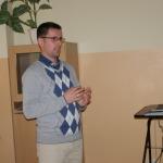 Náš bývalý absolvent Mgr. Roman Vitko sa postavil pred svojich bývalých pedagógov s rešpektom