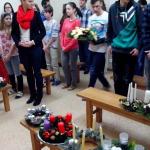 Posvätenie vencov v kaplnke